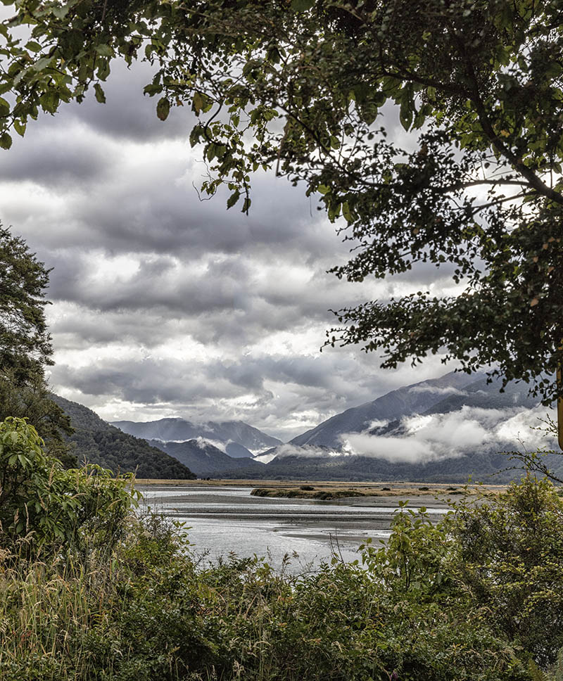 Clearing Storm Haast Pass