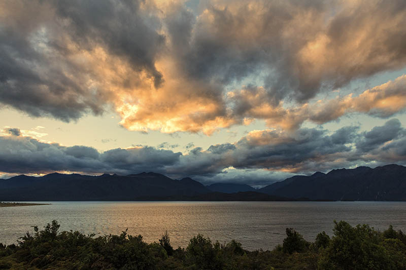 After the storms Lake Te Anau S.I NZ