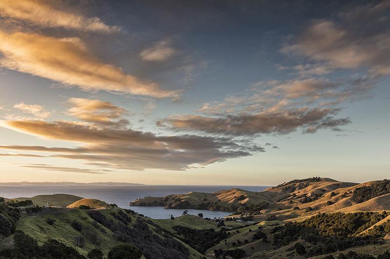 Sunset Coromandel Peninsula