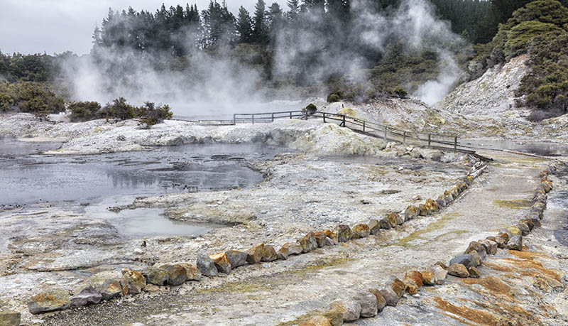 Hells gate Thermal area Rotorua NZ