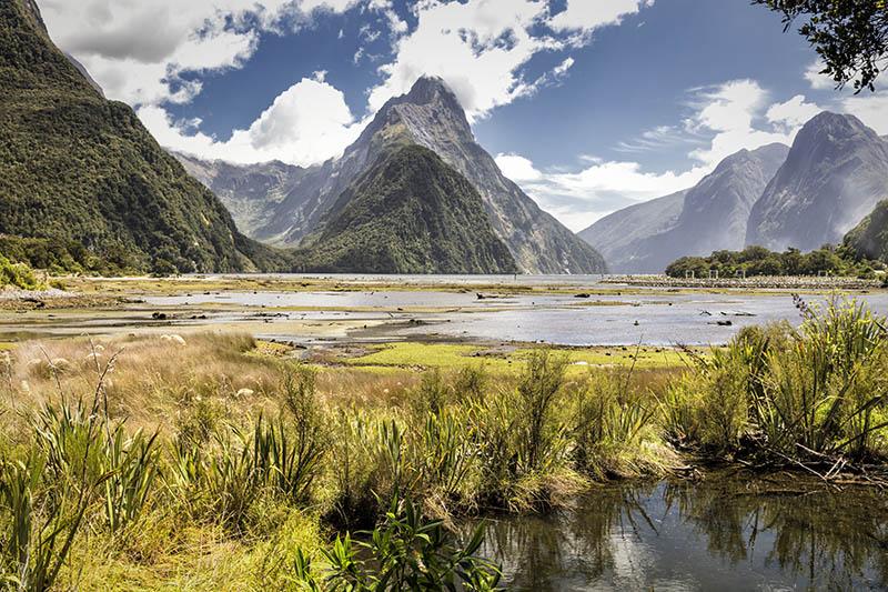 Mitre Peak Milford Sound Fjiordland NZ