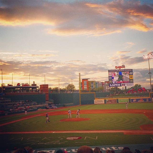 Summer baseball #lugnuts #cubs