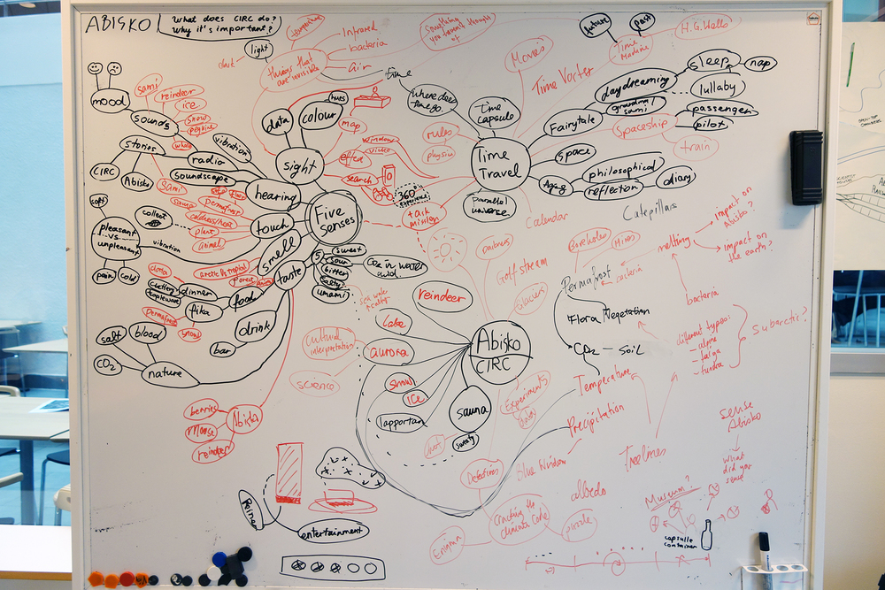 Mind mapping of Abisko