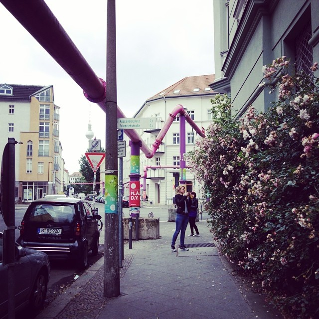 I'm living in the most beautiful streets in Mitte. Summer here is STUNNING.