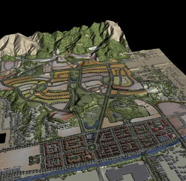 California: Azusa-Private Land Master Plan