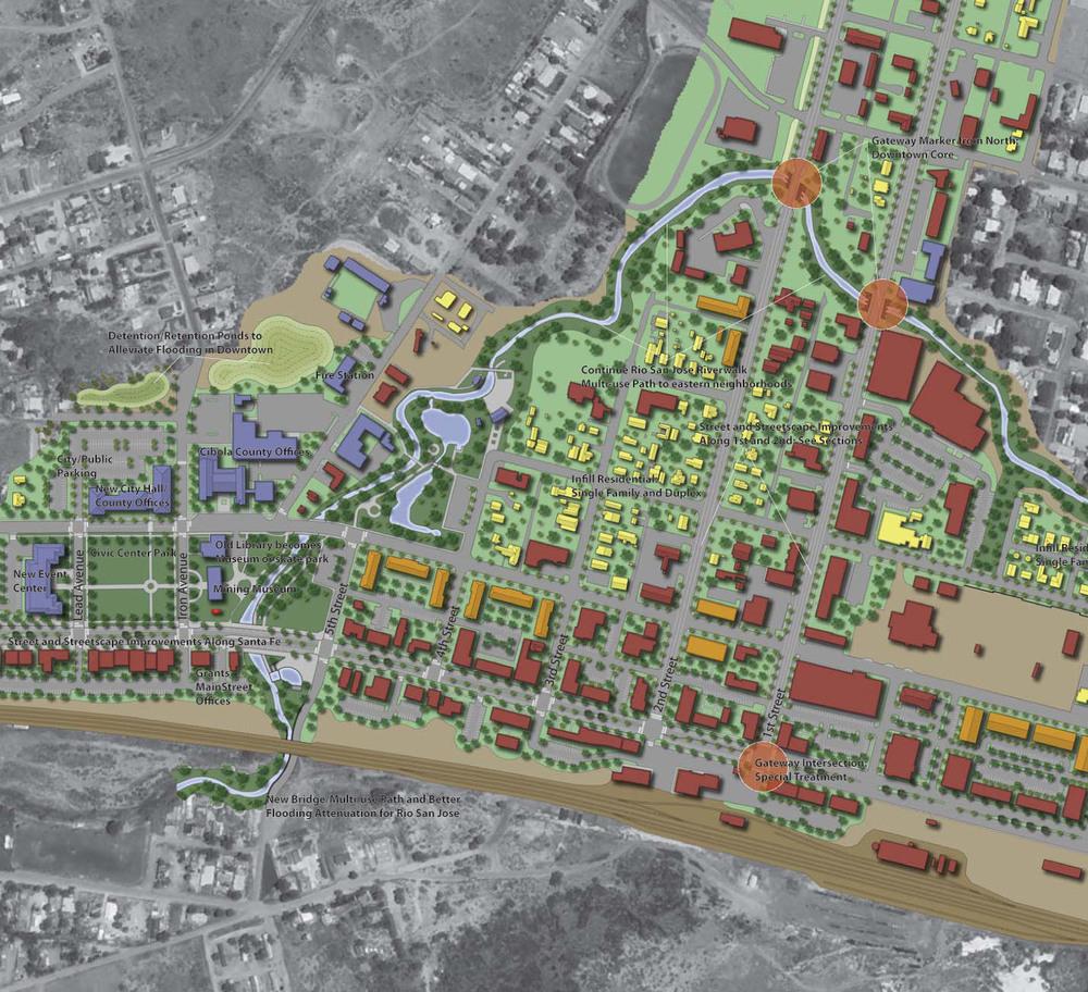 New Mexico: Grants Main Street Master Plan