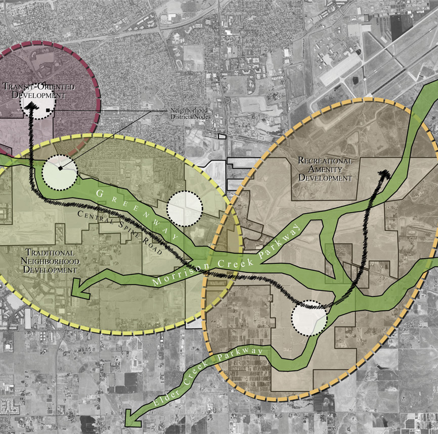 California: Sacramento County Private Land TOD and Regeneration Plan