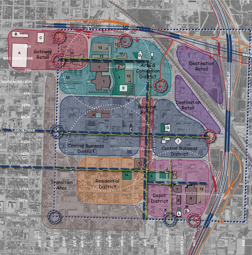 Texas: Lubbock Downtown Plan