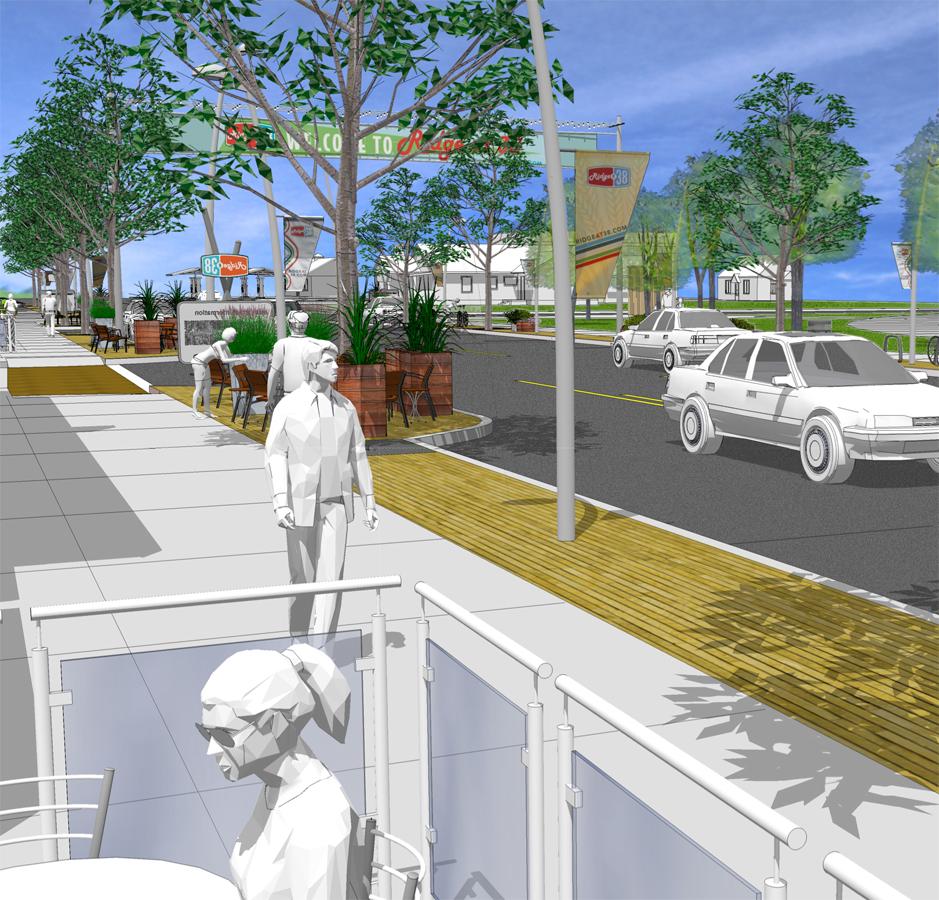 Colorado: Wheat Ridge-38th Avenue Streetscape Design