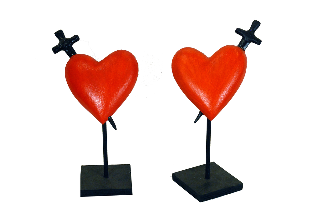 Hearts with Daggers $110 each