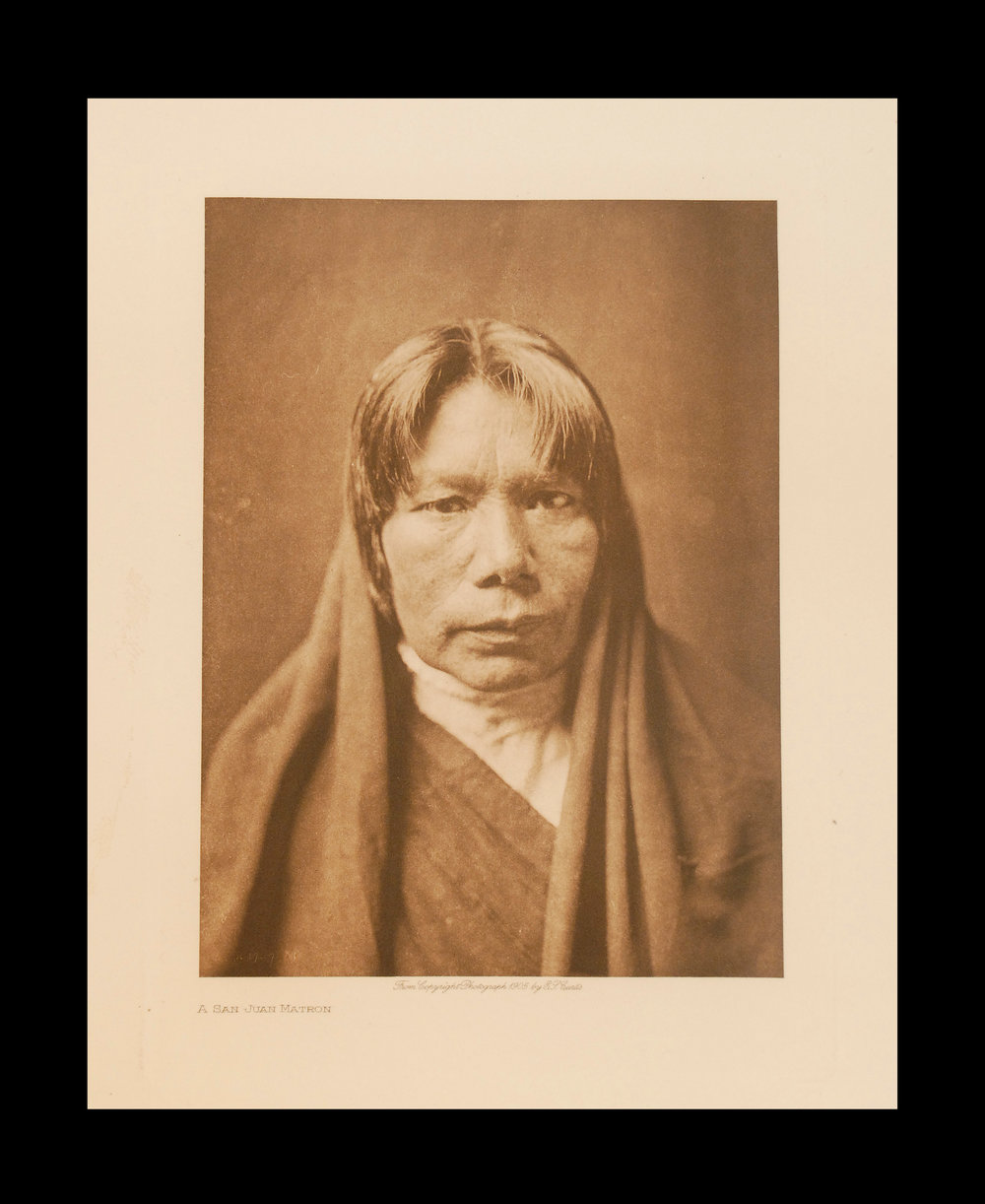 """A San Juan Matron"" 1905 Vol.17 Van Gelder prin t, V intage Photogravure"