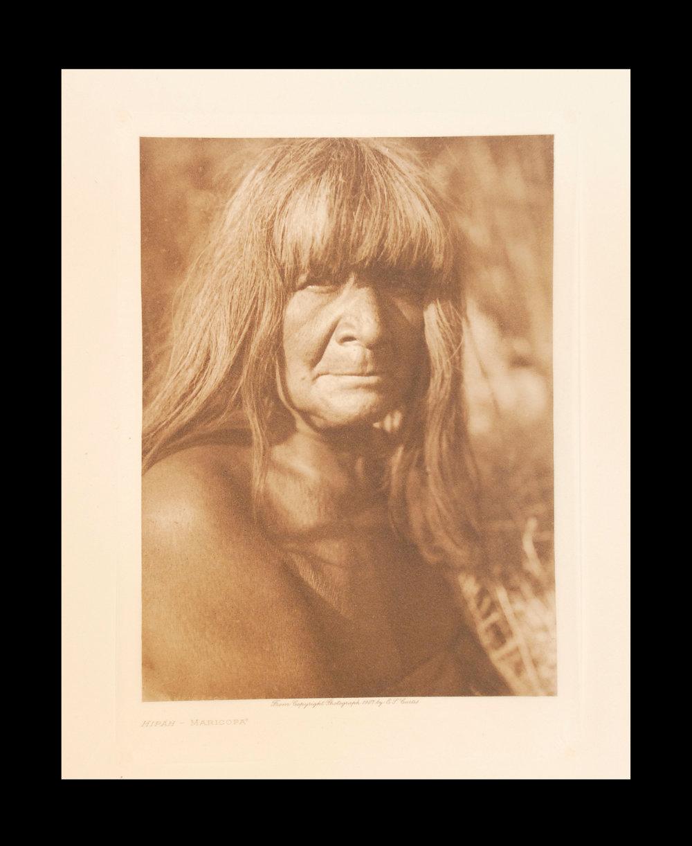 """Hipah - Maricopa"" 1907 Vol.2 Tissue Print  Vintage Photogravure"