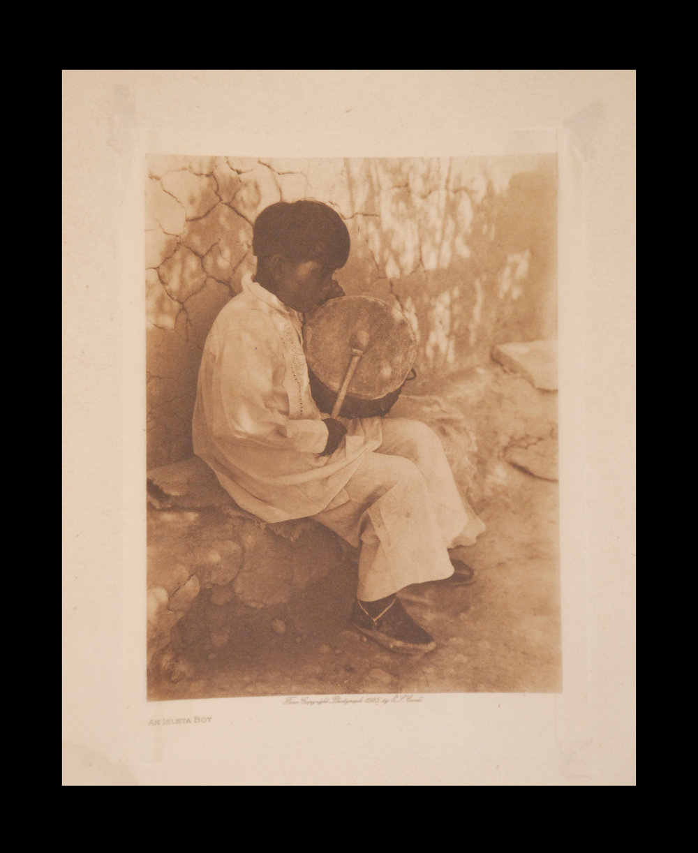 """An Isleta   Boy"" 1925 Vol.16 Tissue Print Vintage Photogravure"
