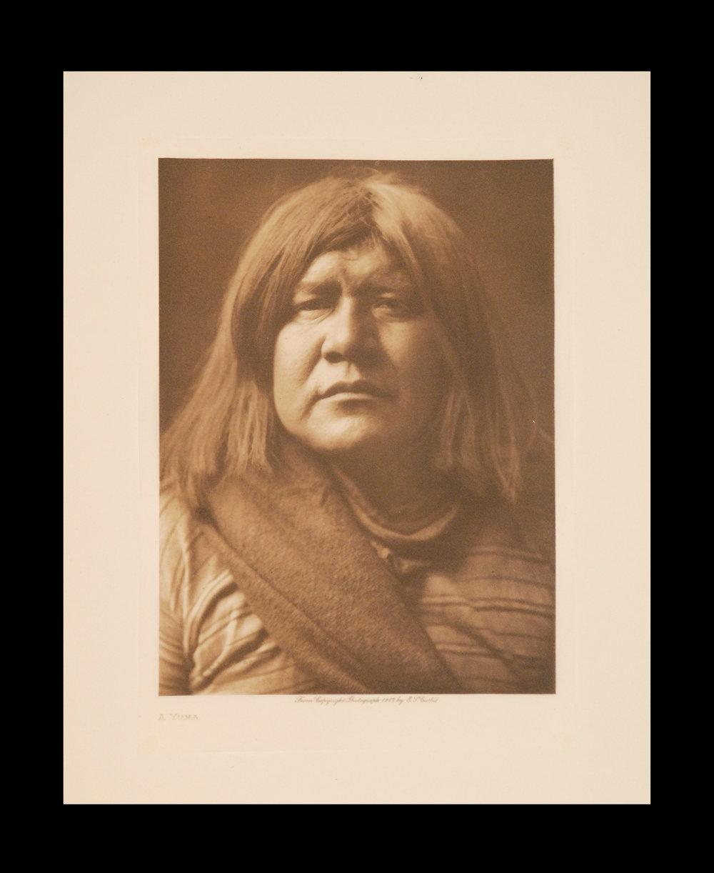 """A Yuma"" 1907 Vol.2 Tissue Print        Vintage Photogravure"