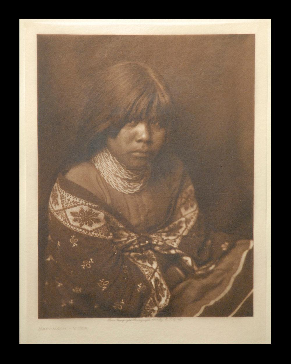 """Hapohach-Yuma"" 1907 Vol.2 Tissue Print   Vintage Photogravure"