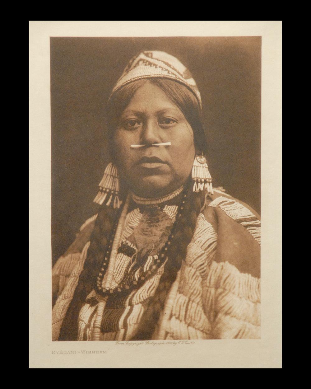 """Kyetani-Wishham"" 1910 Vol.8           Van Gelder Print,Vintage Photogravure"