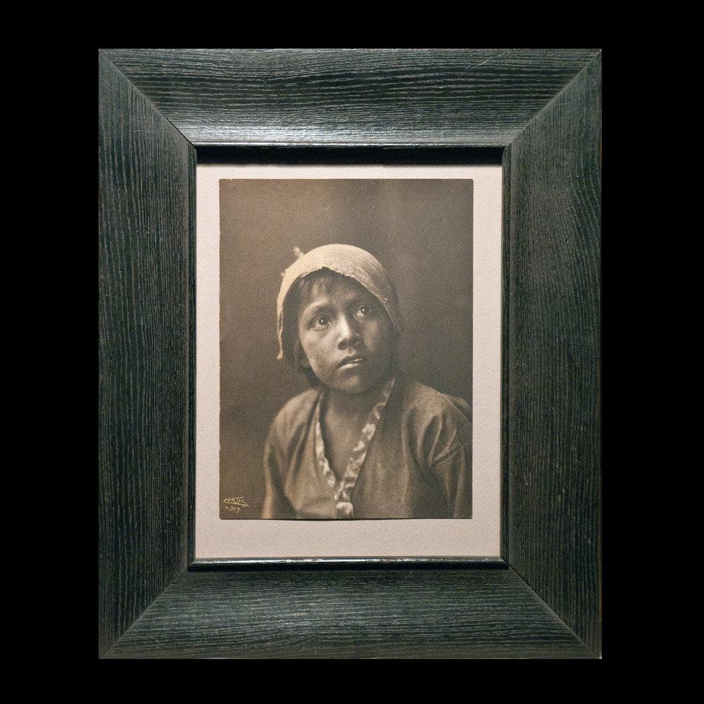 """""""Navajo Boy"""" Platinum Print (6.75x5.25)"""