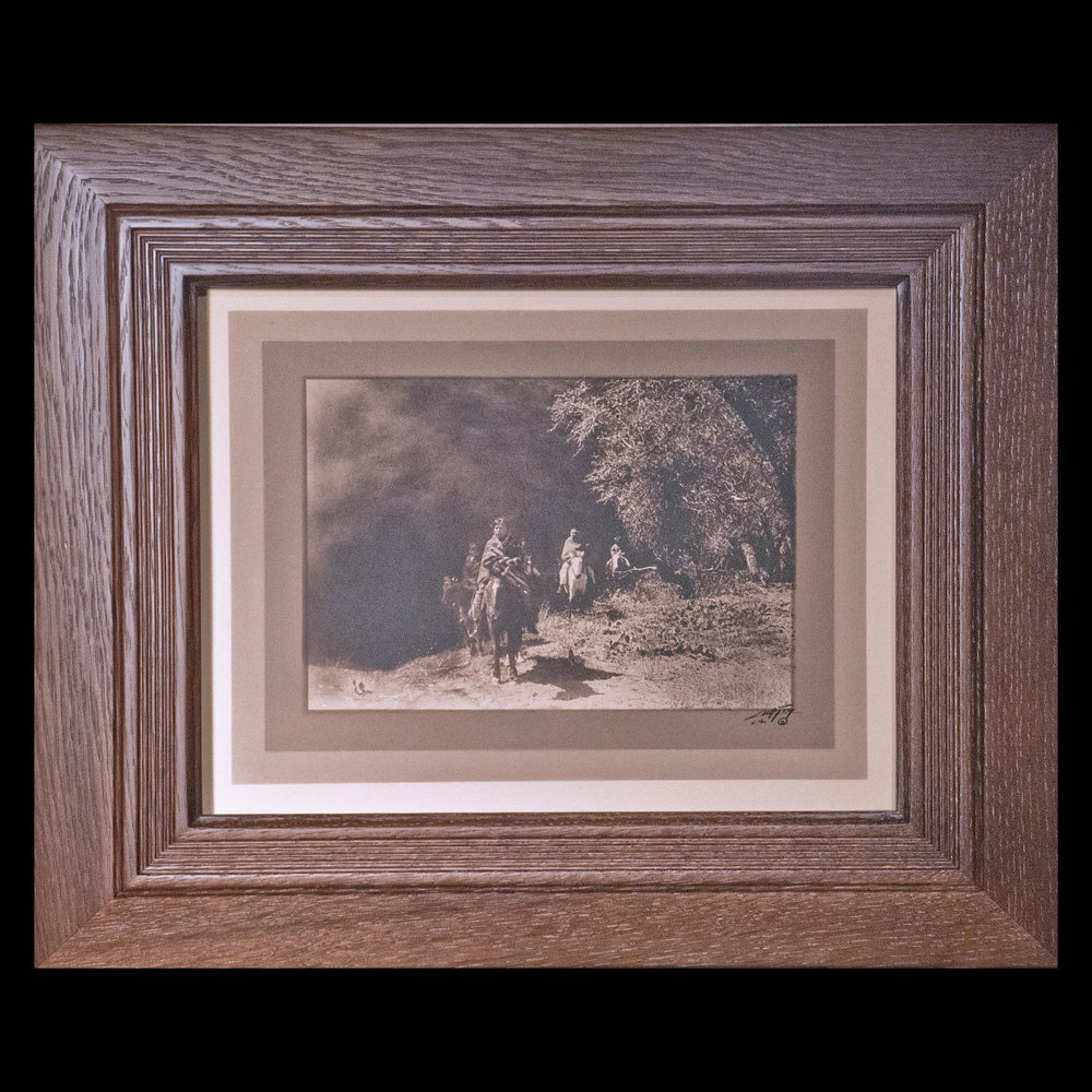"""""""Out of the Darkness""""  Border Silver Bromide Print"""