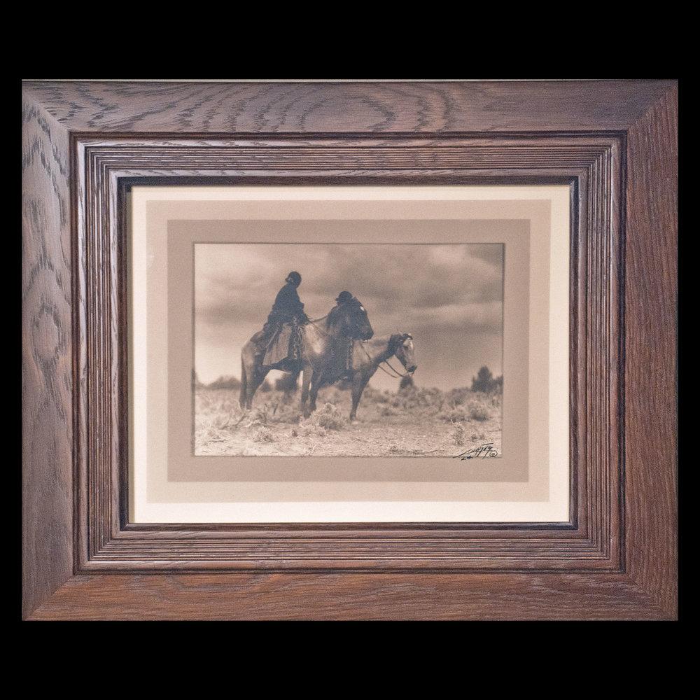 """""""The Women of the Desert"""" Border Silver Bromide Print"""