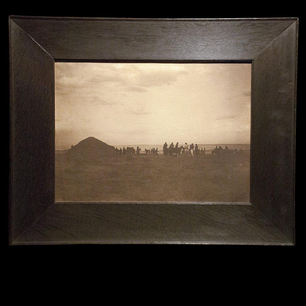 """""""Yebichai Hogan - Navajo""""  Platinum Print  11 3/4 x 15 1/2  (ZLRM 21129)"""
