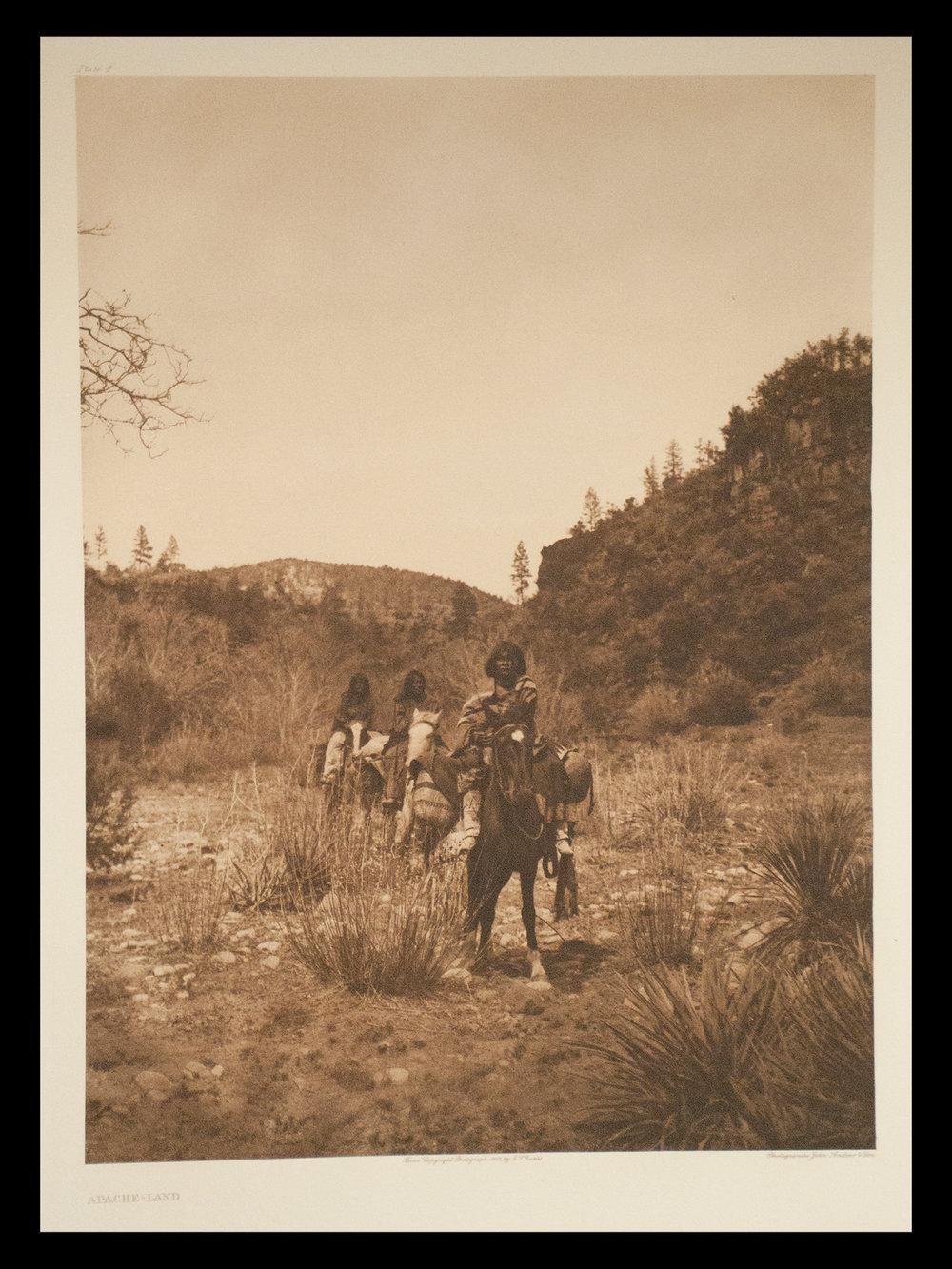 "Plate #4 ""Apache-Land"" 1903 Portfolio 1"