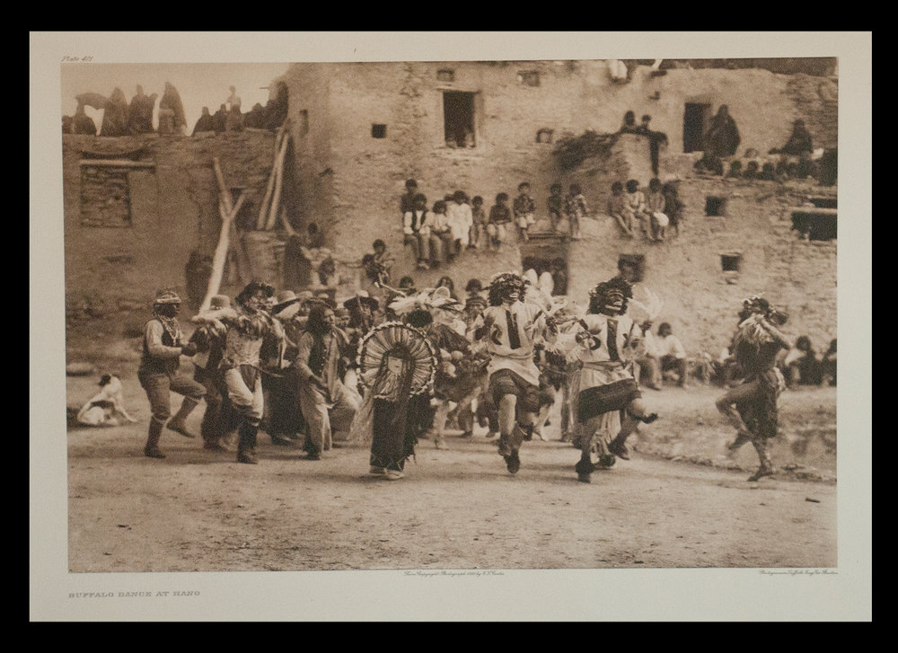 "Plate #401 ""Buffalo Dance At Hano"" 1921 Portfolio 12"
