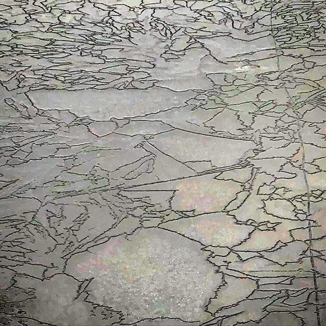 Thin ice  #ice #nature #outdoors #massachusetts #hiking #borderlandstatepark #arteverywhere #winter #hoshtag