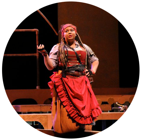 Ruth in Pirates of Penzance  Photo by Tasheon Chillous