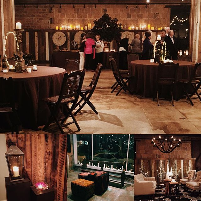 And a few more...loved how the space looked for this holiday kick off party! #eventspace #birmingham #party #holiday #ipcholidayhousetour