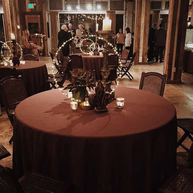 This table decor by Robert Hill from a recent event was on point!