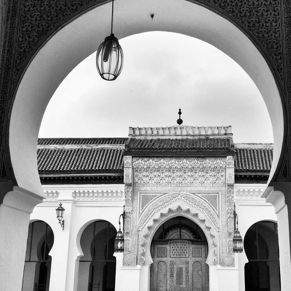#5 - The Medersa Bou Inania in Fez.