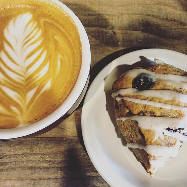 Sunday essentials ☕️#latteart #madefromscratch #omahabakery