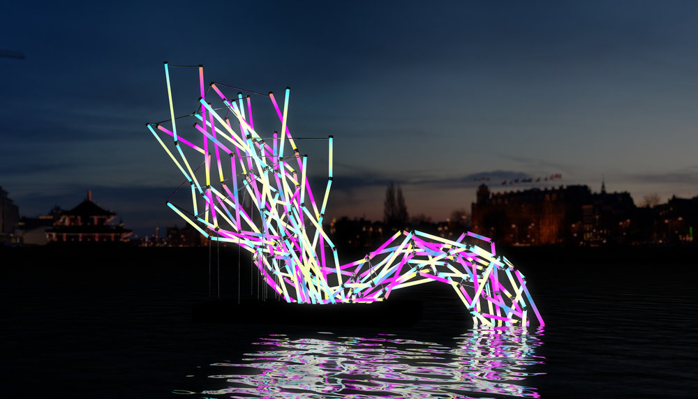 Amsterdam Light Festival - More than 30 light sculptures made by artists around the world are on display. Enjoy the festival from a boat.
