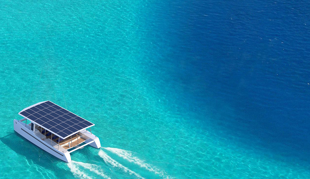 List or bookeco-friendly boats - Electric, wind or solar-powered.