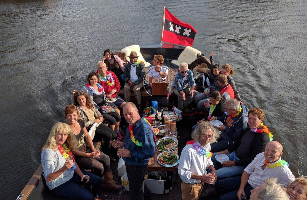 Sloop Naut - Luxury electric boat in Amsterdam