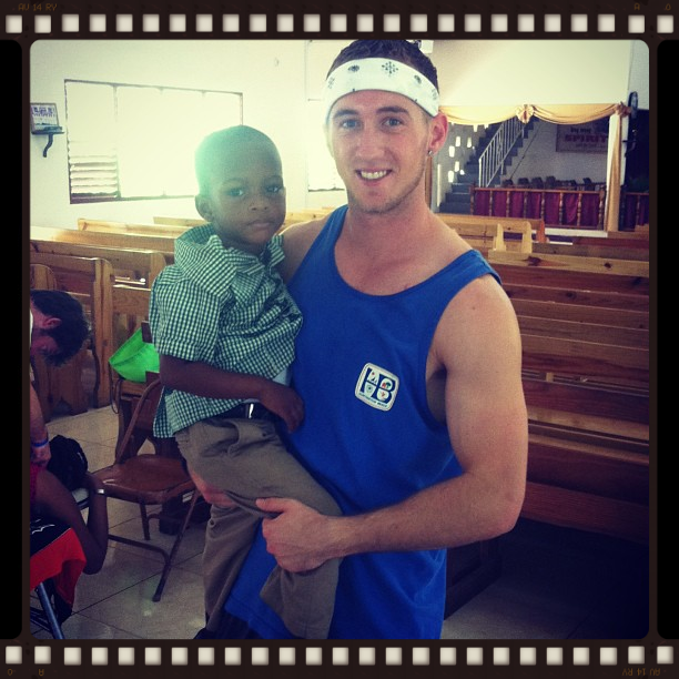 Dr. Chris serving in Jamaica