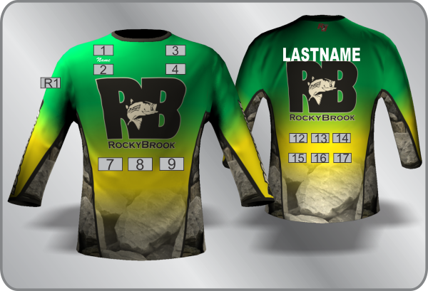 Team RB 2016 Jersey.  *RayJus Outdoors is solely responsible for collecting payment, production and shipment of all jerseys.