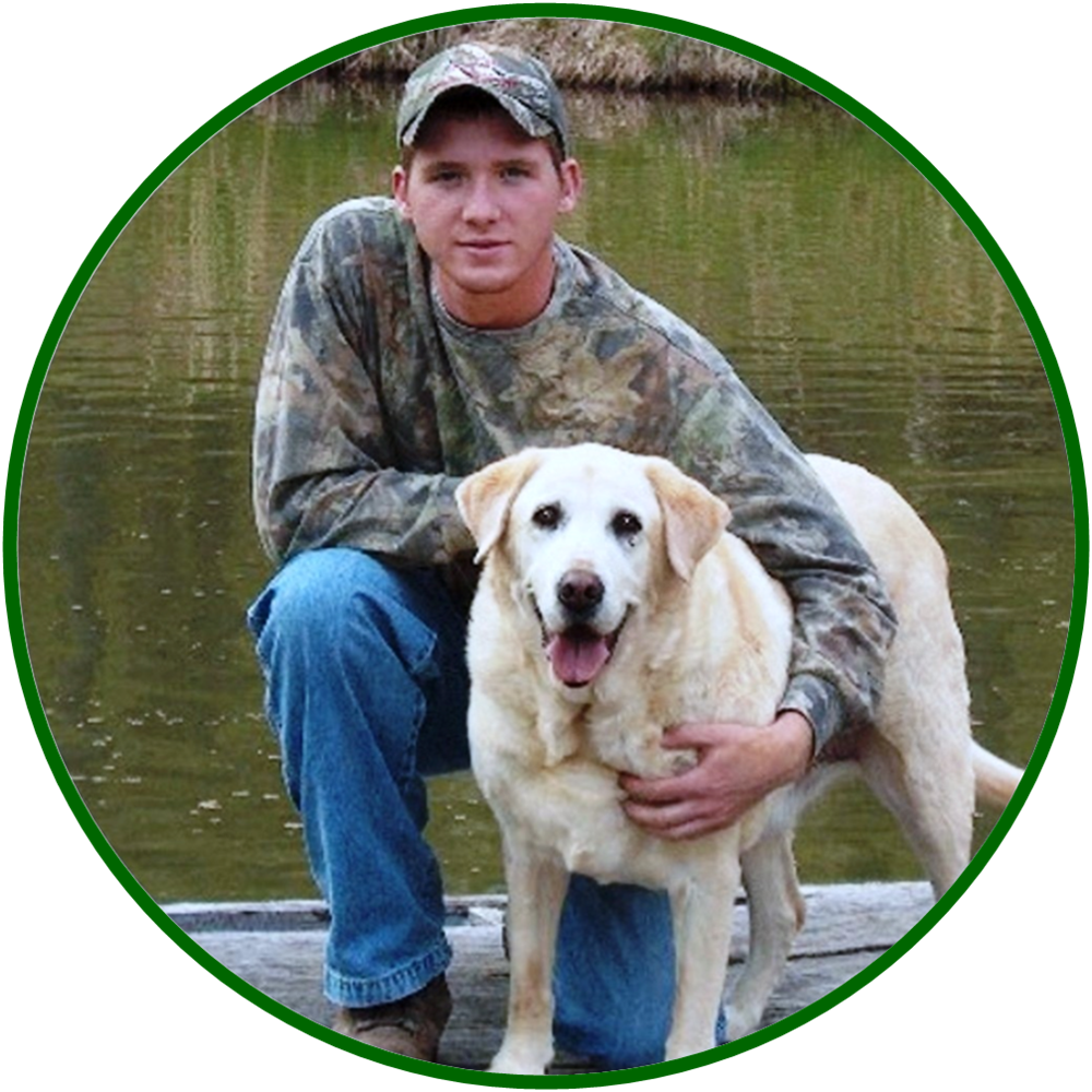 Fun Fact:  RockyBrook is named after the fishing buddies of owner Brook Pauley and his yellow lab, Rocky.