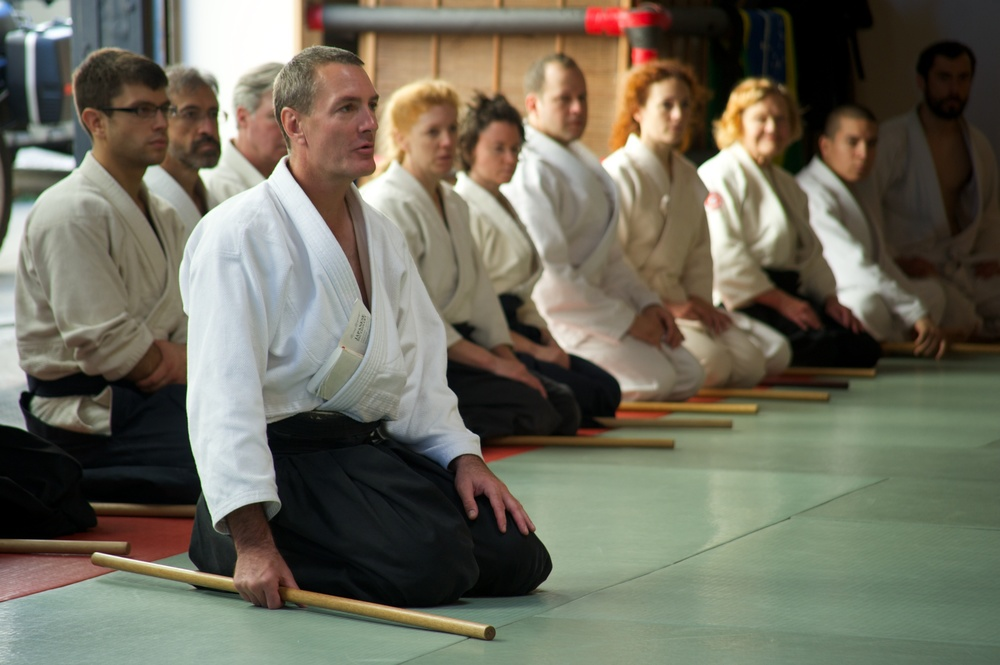 Aikido Jo Training
