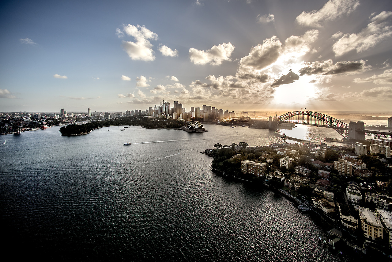 more from the 'Beautiful Cities' series…  Sydney Harbour in January