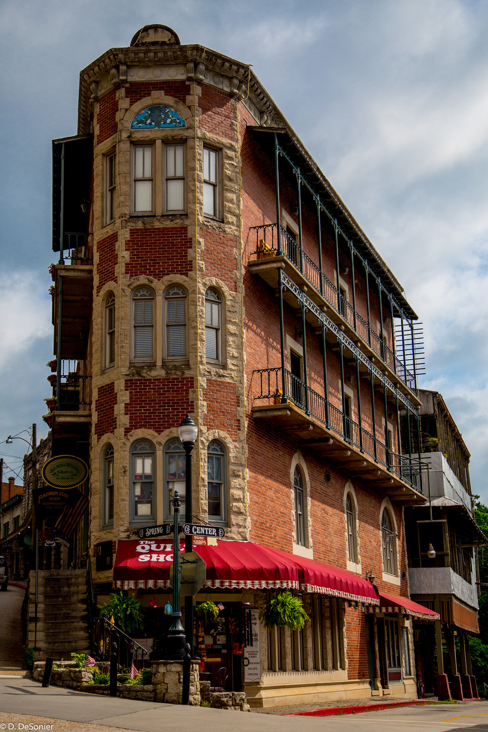 historic Eureka Springs, AR.
