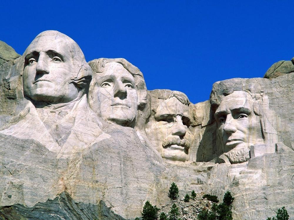 Mt. Rushmore.
