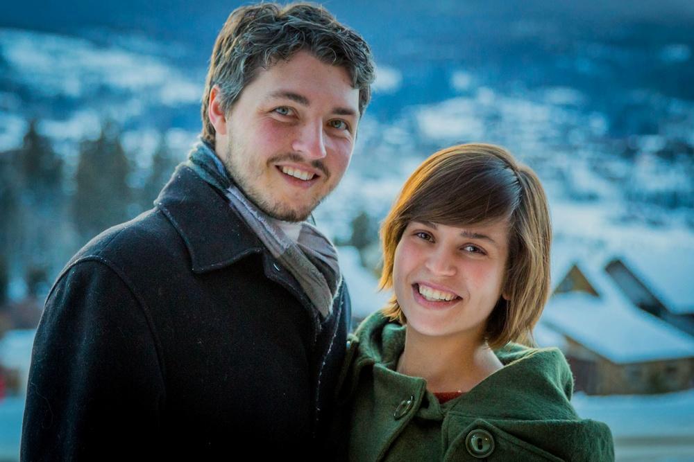 Josh and Sharlotte.