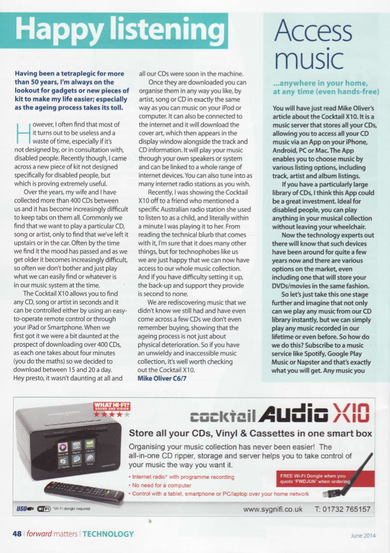 Cocktail Audio X10 Forward Magazine Technology Feature.jpg