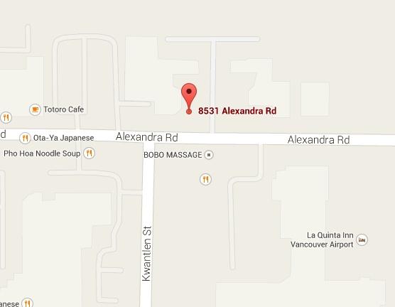 NEW LISTING!   C6 Zone, 880 Sqft, $24/sq ft   113-8531 Alexandra Rd RIchmond, BC