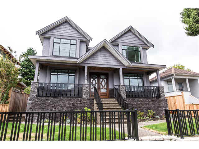 SOLD   $1,398,000-  6 Bed, 7 Bath , 4478 sq ft  1409 Eighth Av New Westminster, B.C.  V1137083