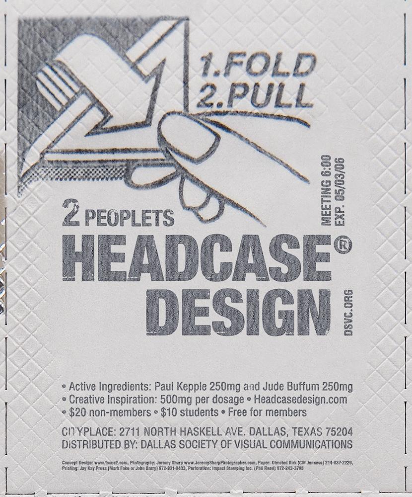 Headcase Poster