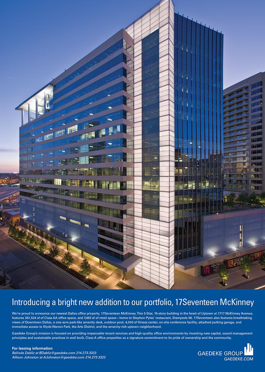17Seventeen McKinney Dallas Business Journal Ad