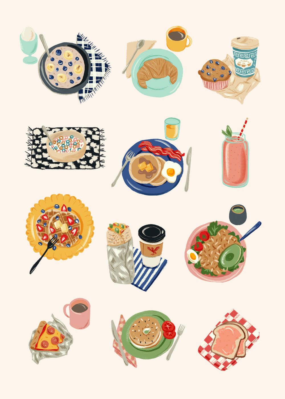 Everyday Happiness, Part Two: Eat Breakfast, 2018