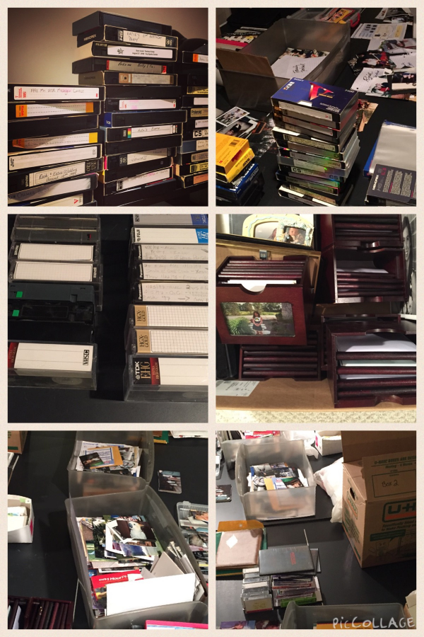 Photographic collection BEFORE archival and preservation.